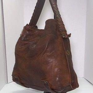 Clhoe Large Brown Handbag